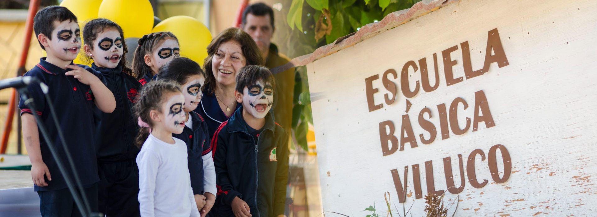 Banner Escuela Basica Viluco