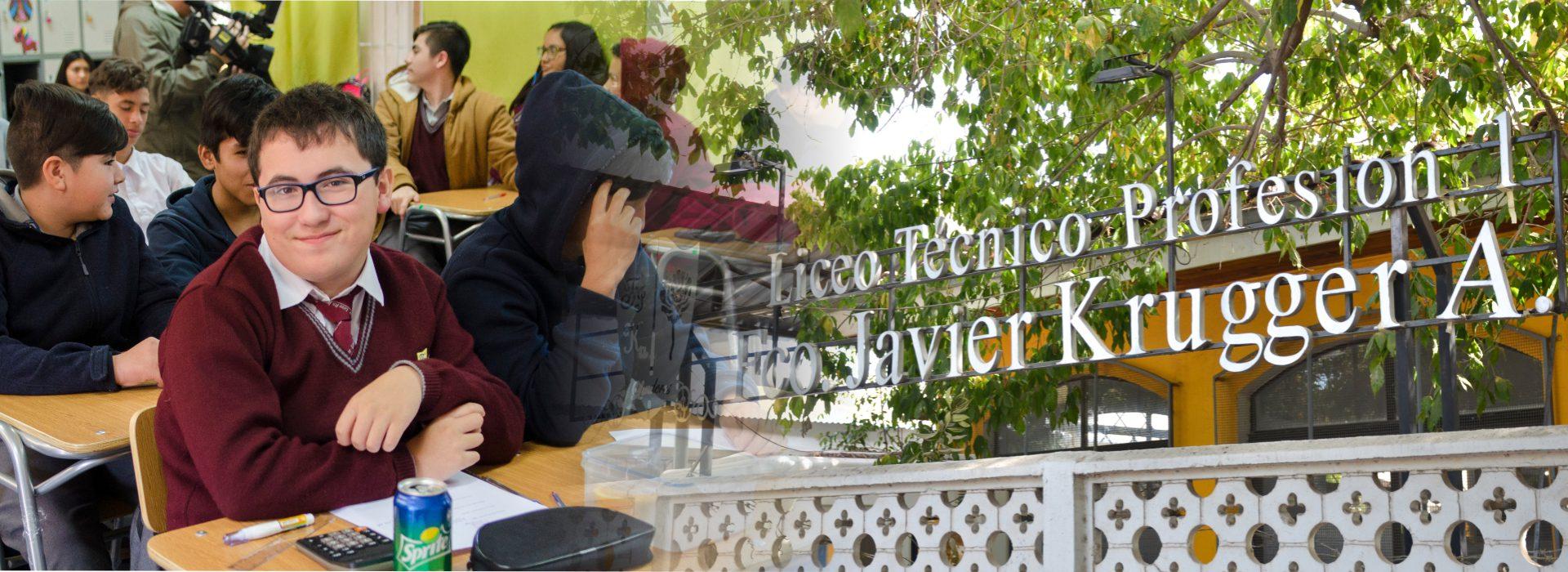 Banner Liceo Francisco Javier Krugger