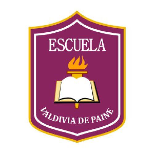 Insignia escuela Valdivia de Paine
