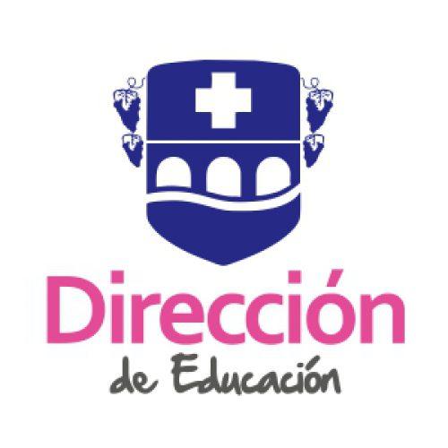 Logo Direccion de Educacion Buin